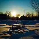 Snowy Hanover Sunrise by Rachel Blumenthal
