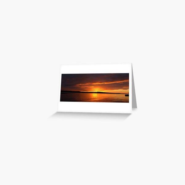 Limekilns  Sunset Greeting Card