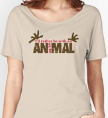Animal Grunge Women's Relaxed Fit T-Shirt