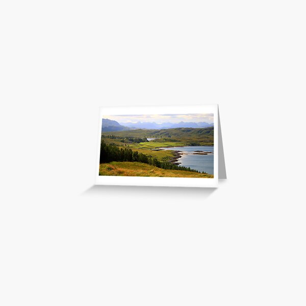 Torridan Mountains Greeting Card