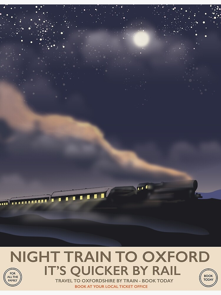 Night train to Oxford  by vectorwebstore