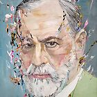 SIGMUND FREUD - oil portrait by lautir