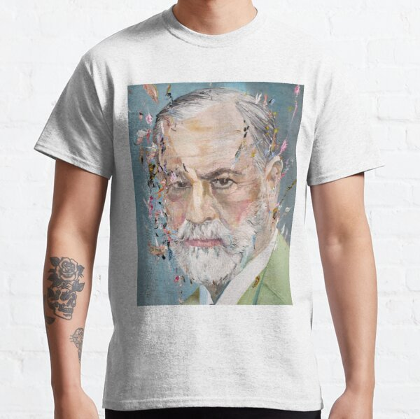 SIGMUND FREUD - oil portrait Classic T-Shirt