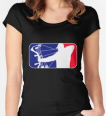 Major League Bow Hunting Women's Fitted Scoop T-Shirt