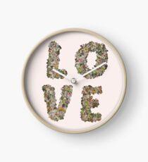 Rubbish Love Clock