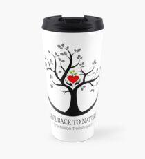 Give Back to Nature Logo - For Light Backgrounds Travel Mug