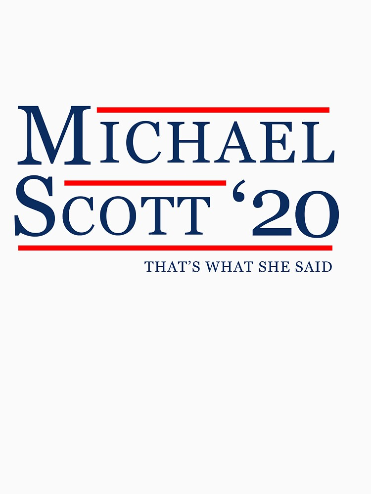 Michael Scott for President by beelinedesign