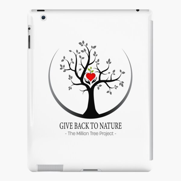 Give Back to Nature Logo - For Light Backgrounds iPad Snap Case