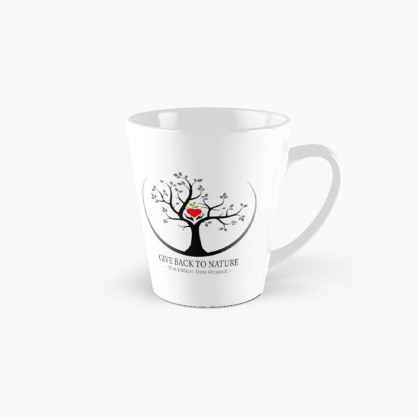 Give Back to Nature Logo - For Light Backgrounds Tall Mug