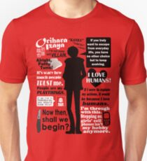 Orihara Izaya Quotes Unisex T-Shirt