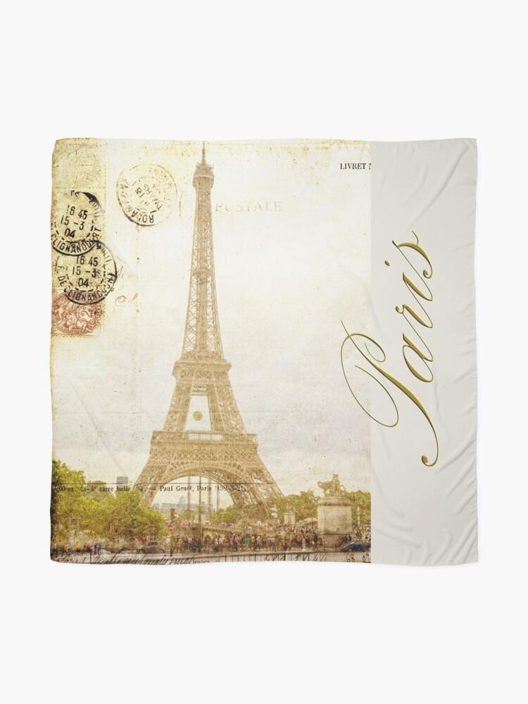 Alternate view of Paris Scarf