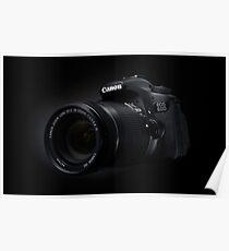 Canon EOS 60D Poster