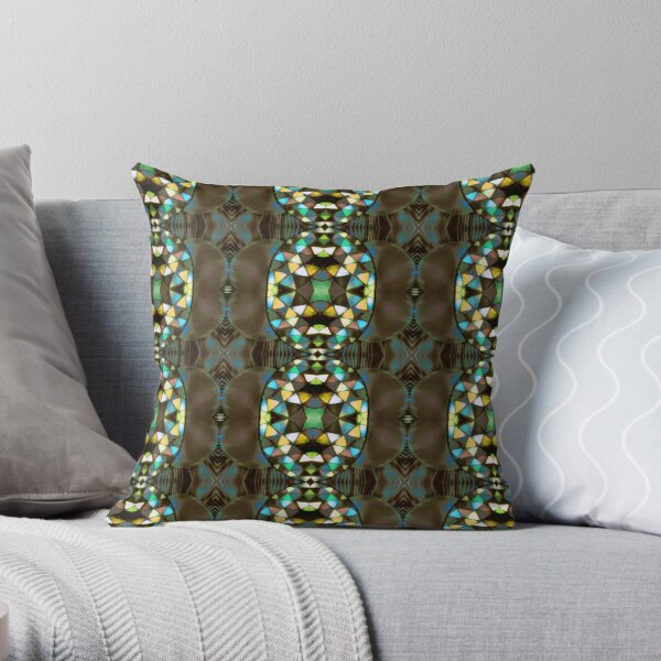 Los Cabos Patterns Throw Pillow