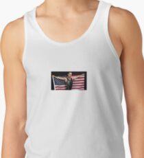 Adam Rippon mit US-Flagge Tanktop für Männer