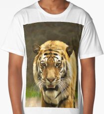 Drawing bengal tiger portrait Long T-Shirt