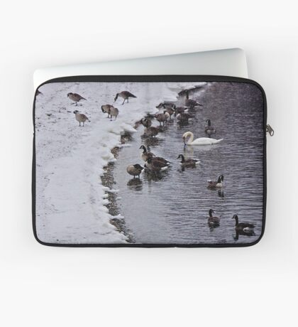 Stranger In the Flock ! Laptop Sleeve