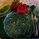 Dinning Alone by Linda Miller Gesualdo