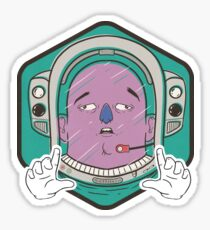 Out of Space Sticker