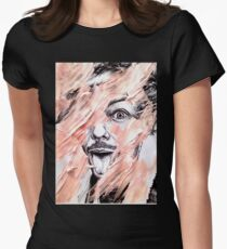 LT Distortion/Decay (Print On Back) Women's Fitted T-Shirt