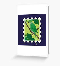 Ringneck Parakeet Greeting Card