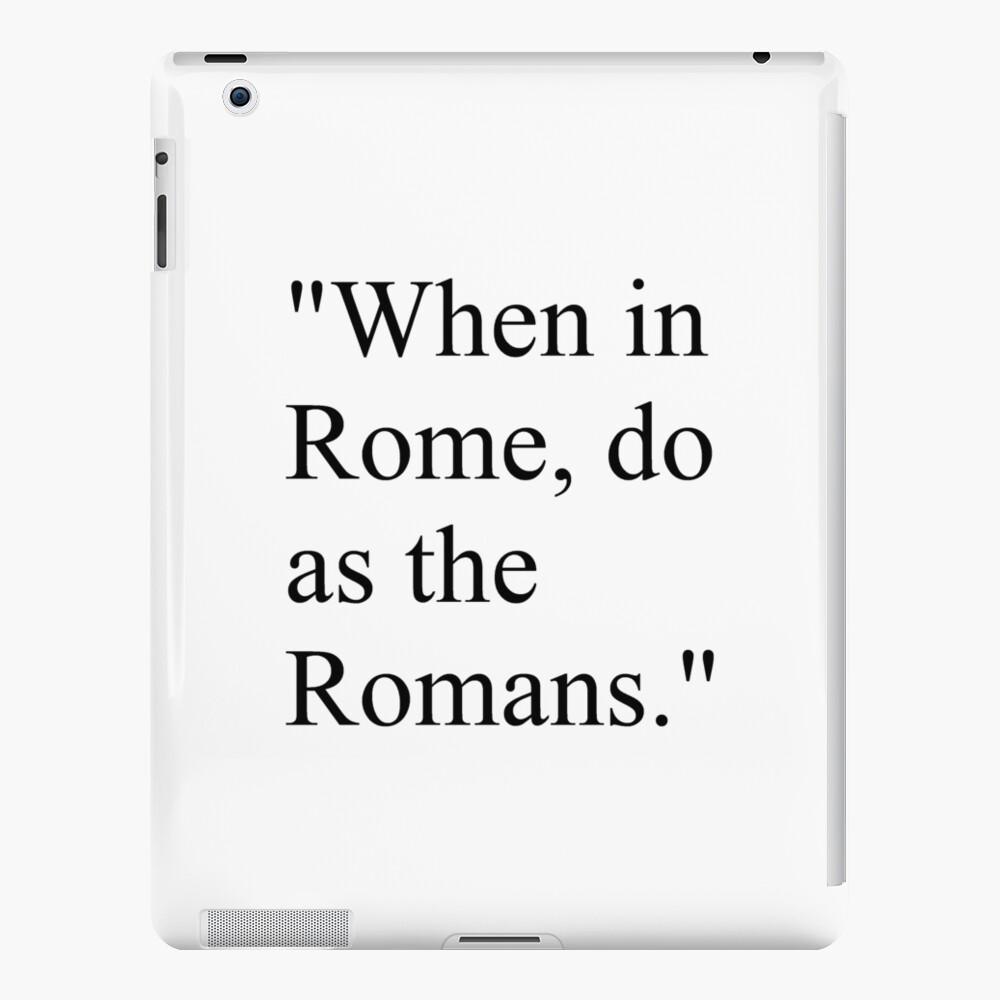 Aphorism, dictum, maxim, saw, pensee, gnome,  saying, axiom, adage, epigram, dictum, proverb, tag, quote, quotation, citation, excerption iPad Case & Skin