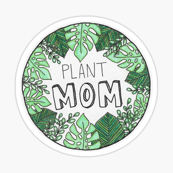 Plant Mom - COULEUR Sticker