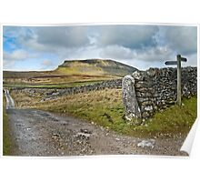 Penyghent, The Yorkshire Dales Poster