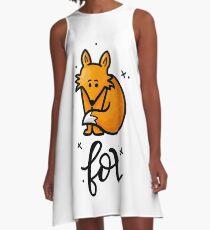 Fox A-Line Dress