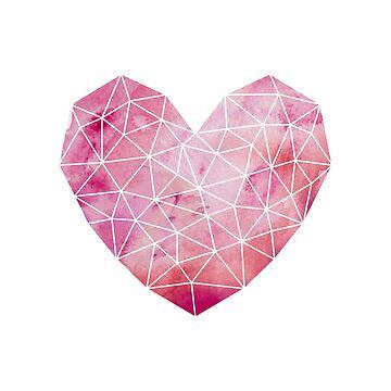 Geometric Heart No. 1 by KookiePixel