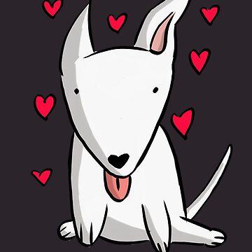 I <3 my Bull Terrier #1 by DarthMonter