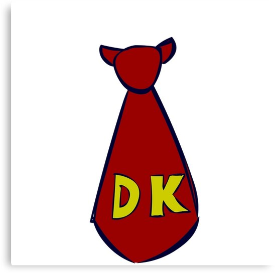DK Donkey Kong Tie by BrotatoTips