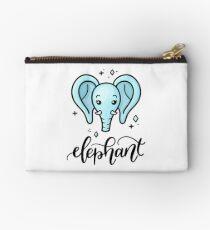 Elephant Zipper Pouch
