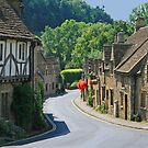 The Street, Castle Combe by RedHillDigital