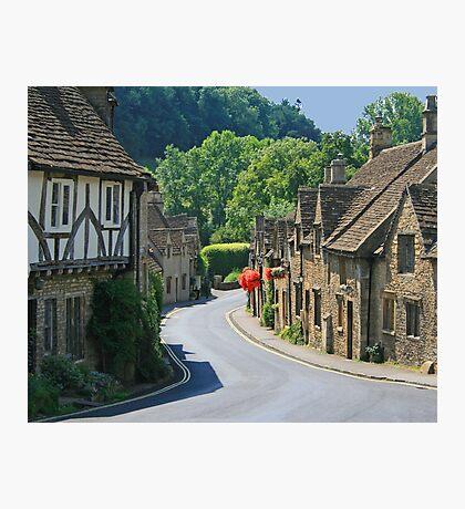The Street, Castle Combe Photographic Print