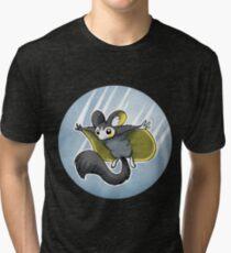Emolga badge 2 Tri-blend T-Shirt