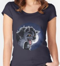 Mightyena badge Women's Fitted Scoop T-Shirt