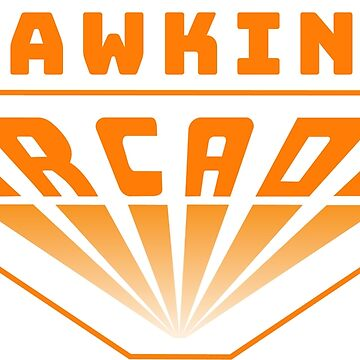 Hawkins Arcade ( Stranger Things ) Retro arcade logo  by DanDobsonDesign