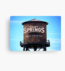 Springs Tower Canvas Print