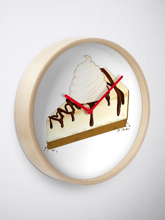 Alternative Ansicht von Schokoladen-Nieselregen-Käsekuchen Uhr