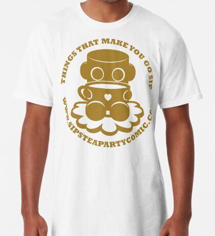 STPC: Things That Make You Go Sip (Gold O'BOT) 1.0 Long T-Shirt