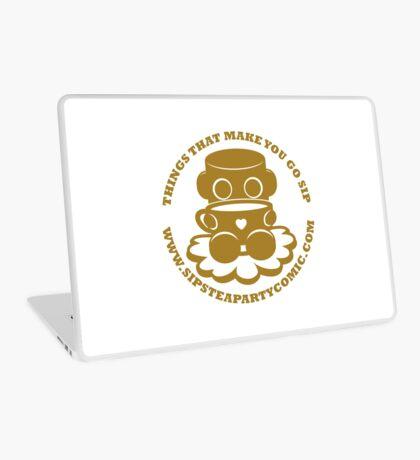 STPC: Things That Make You Go Sip (Gold O'BOT) 1.0 Laptop Skin