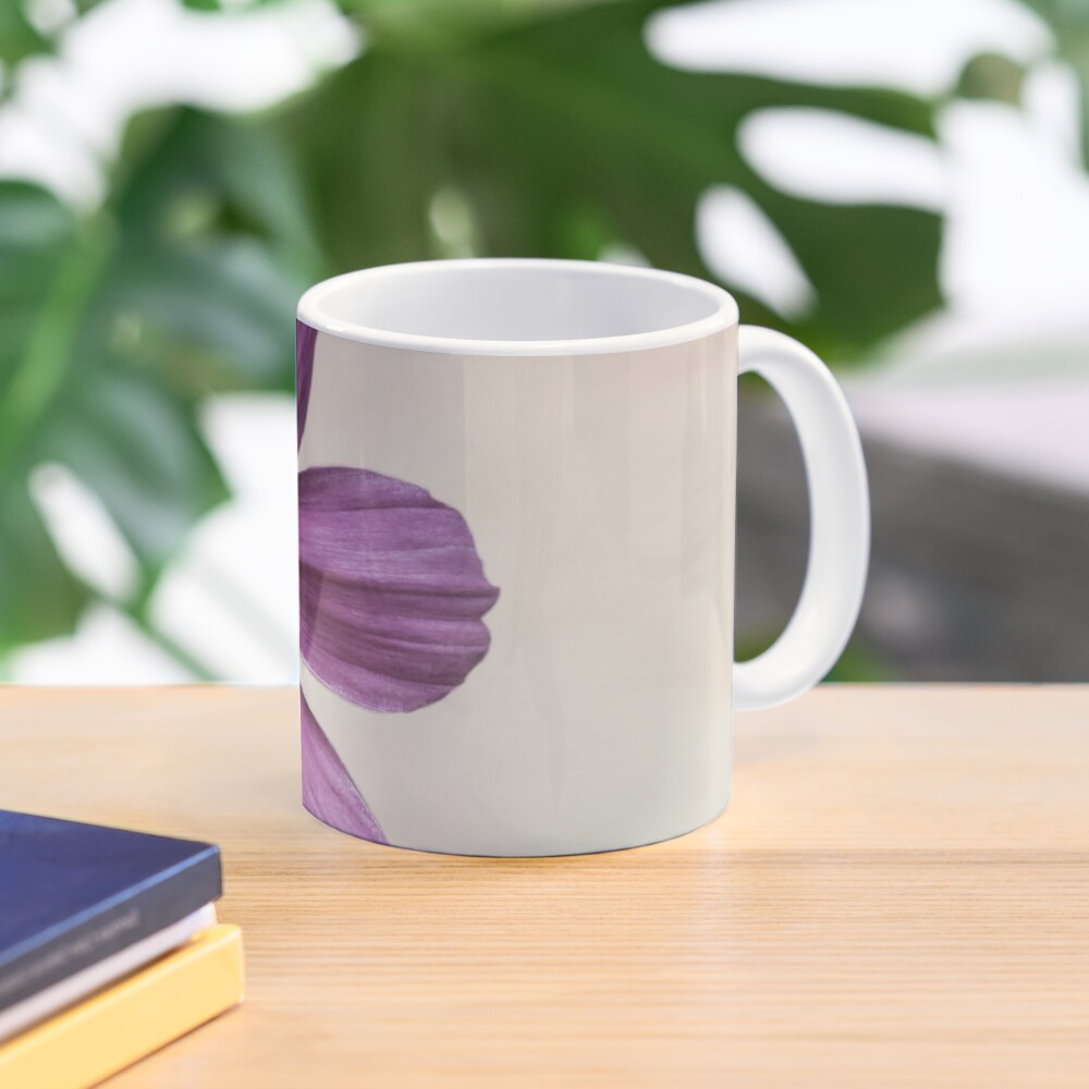 Purple Cosmos Flower Mug