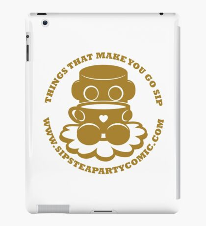 STPC: Things That Make You Go Sip (Gold O'BOT) 1.0 iPad Case/Skin