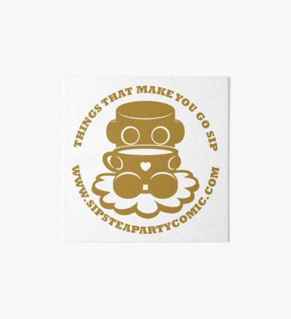STPC: Things That Make You Go Sip (Gold O'BOT) 1.0 Art Board Print