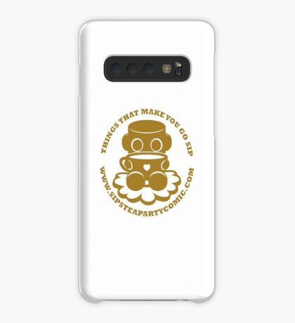 STPC: Things That Make You Go Sip (Gold O'BOT) 1.0 Case/Skin for Samsung Galaxy