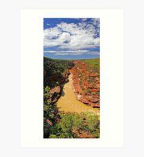 Murchison River Gorge - Western Australia  Art Print