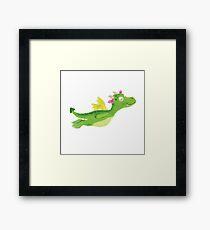 baby dragon Framed Print