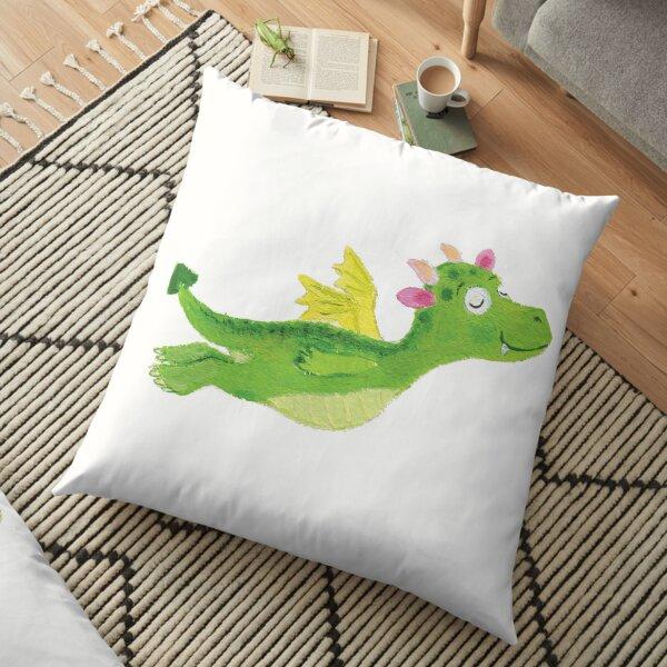 baby dragon Floor Pillow