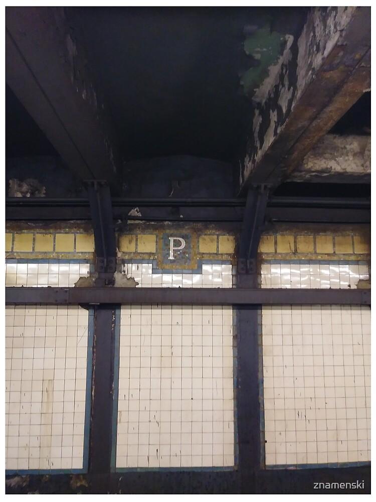 P, Street, New York, NY  by znamenski