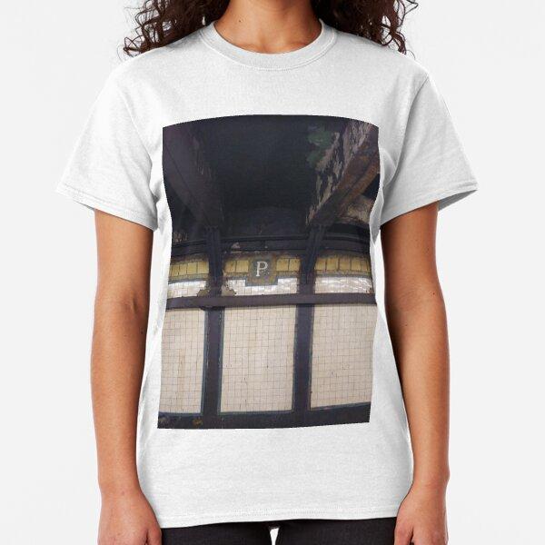 P, Street, New York, NY  Classic T-Shirt